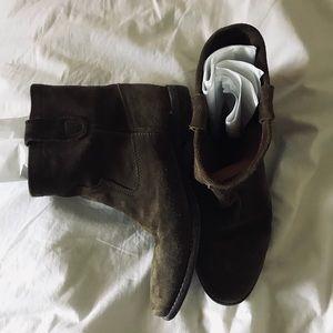 👁 SALE Isabel Marant Pour HM Green Crisi Boots